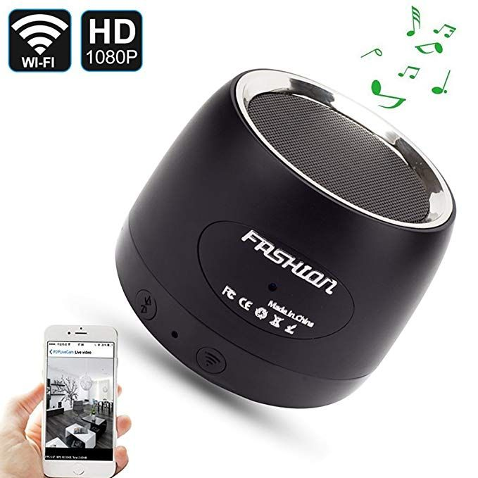 QUANDU WiFi Hidden spy camera hidden camera speaker Night