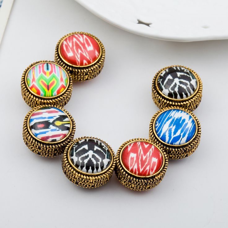 12pcs/lot Muslim Brooches Magnet Stronger Pattern Vintage Broches Hijab Accessories Muslim Brooch For Women