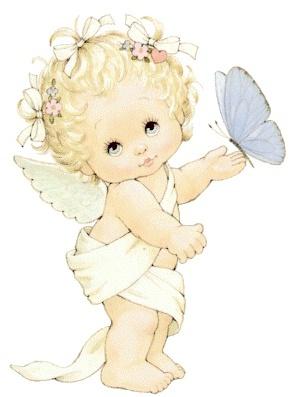 imagenes de angeles muy tiernas ….