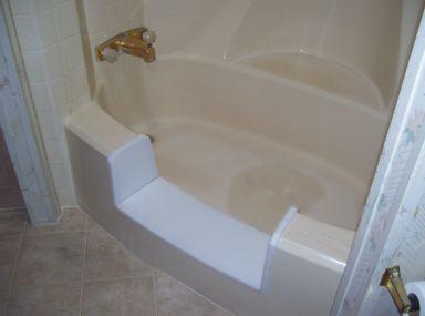25 best ideas about bathtub inserts on pinterest diy for Fiberglass garden tub