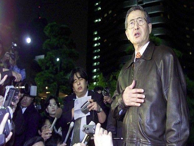 Alberto Fujimori Diecisiete años de su renuncia vía fax - El Popular