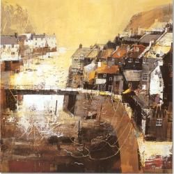 Staithes by Mike Bernard
