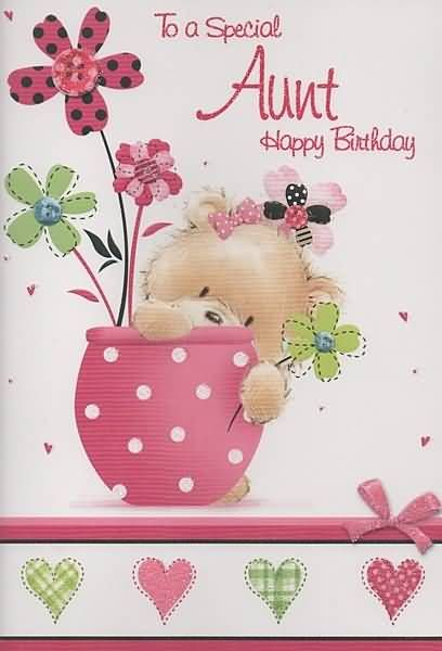 Special Birthday Wishes For Wonderful Aunt