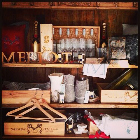 Some of the amazing gifts we have available in our Chalet store. #store #gifts #engraveditems #vineyard #scenicrim