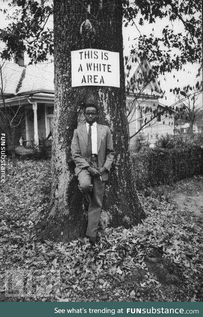 Civil disobedience at its best, 1950