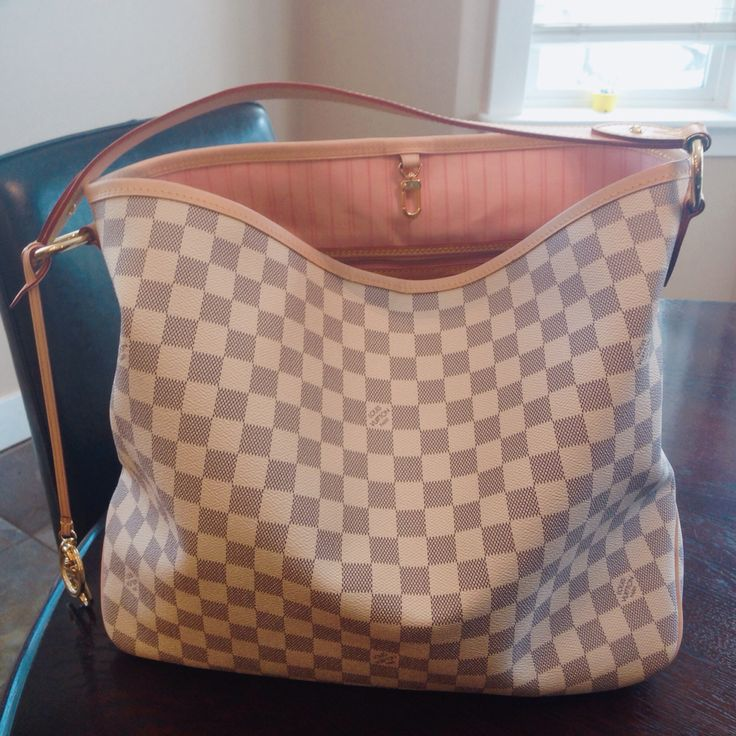 Louis Vuitton Delightful mm with new Rose Ballerine interior.