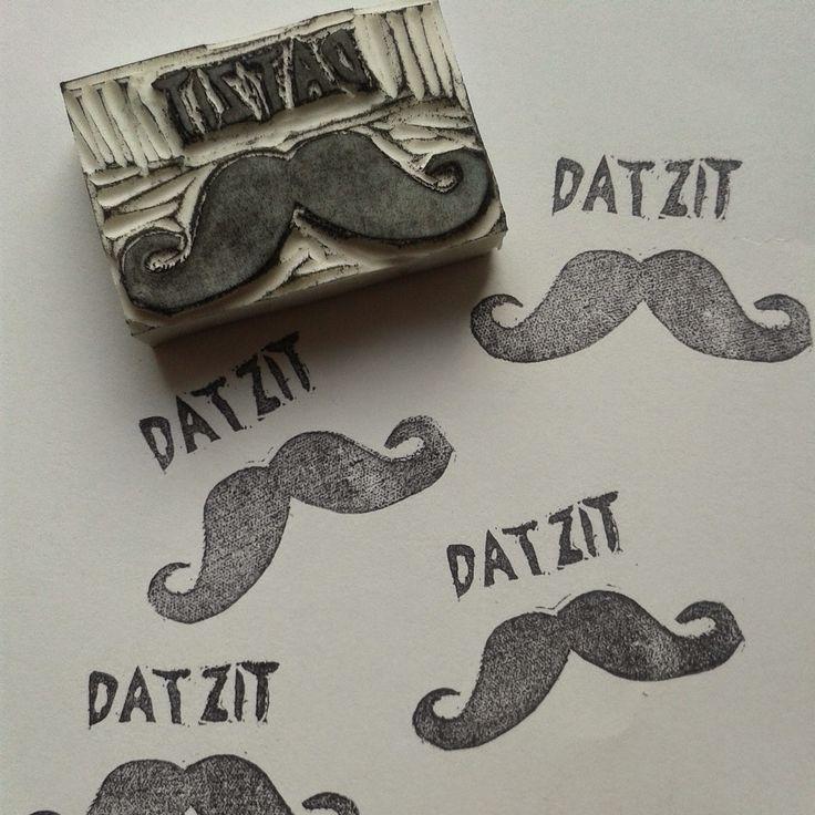 ©Lise: beloningsstempel 'dat zit snor'. Interesse in deze beloningsstempel? Laat een berichtje achter.