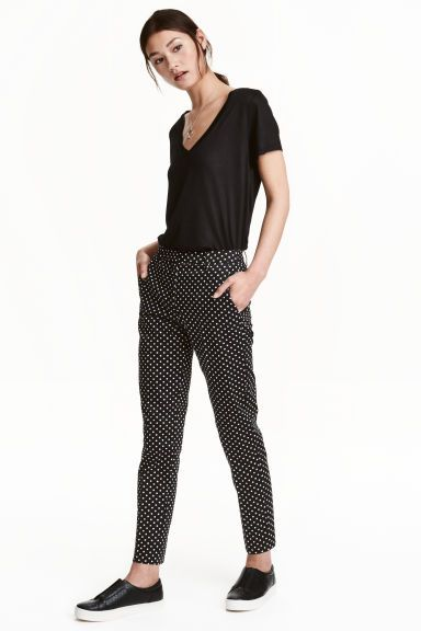 Cigarette trousers | H&M