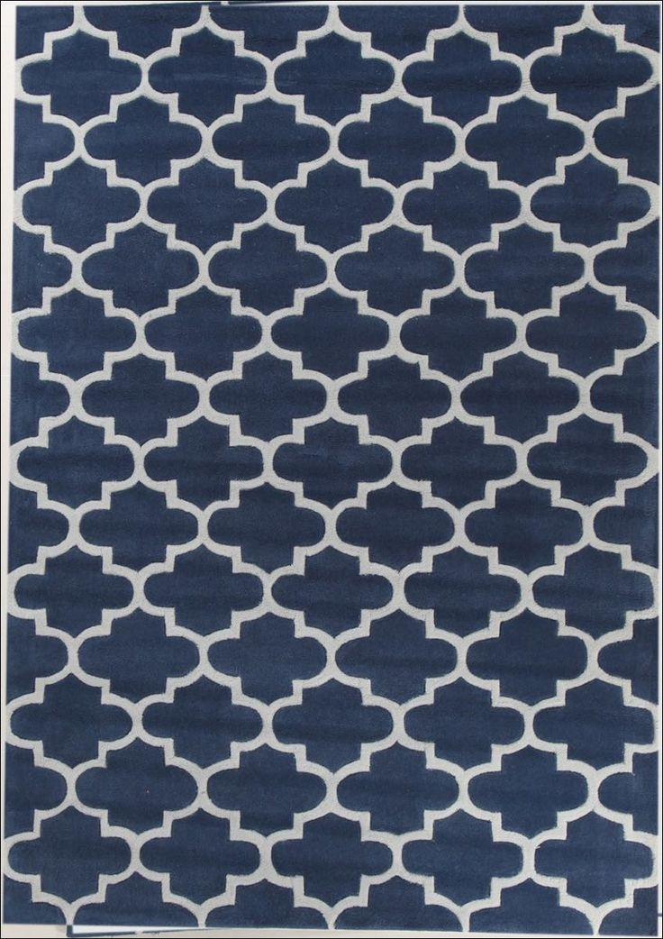 Beautiful Navy Trellis Style Rug, available from Rugs Of Beauty: https://www.rugsofbeauty.com.au/products/lattice-navy-blue-rug