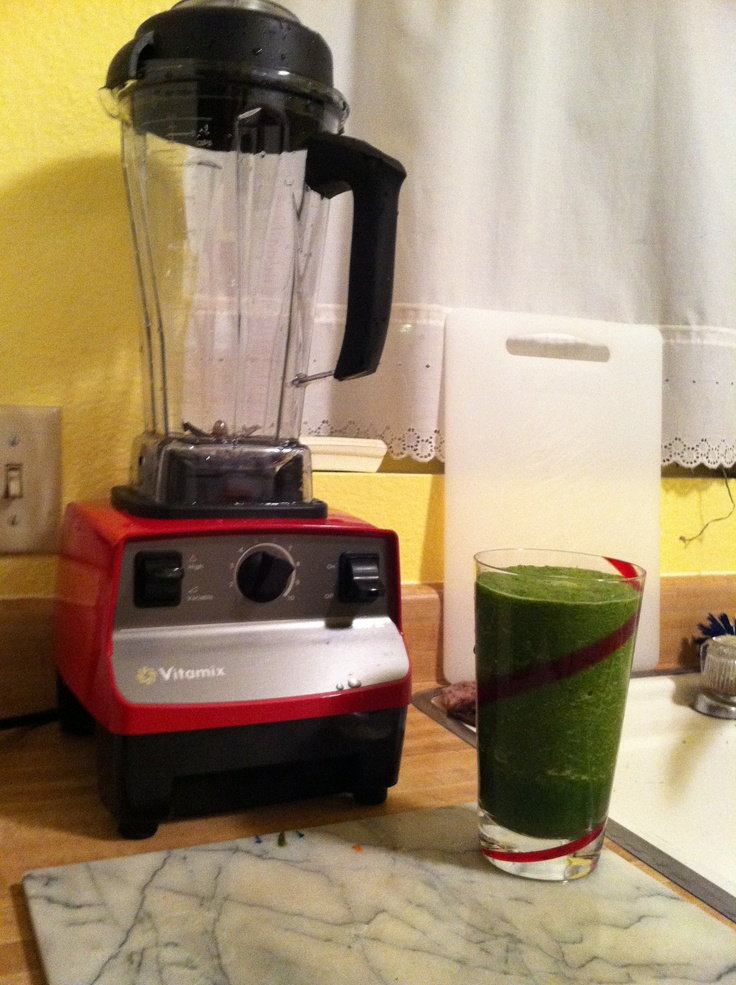 My newly purchased Refurbished Vitamix!
