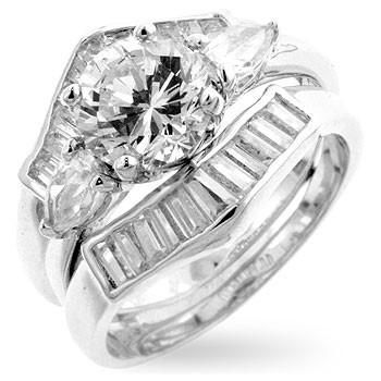 Two-Piece Engagement Ring Set