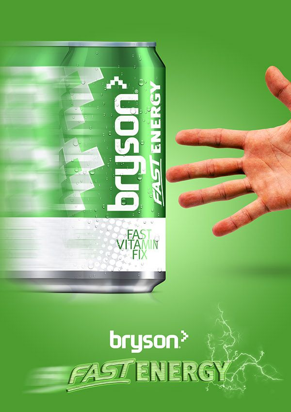 Byson Fast Energy - Energy Drink Advertisment