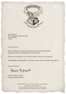 HARRY POTTER PARTY IDEAS: Print your own free personalized Hogwarts Acceptance Letter. How cool would this be at a Harry Potter Birthday Party or scrapbooking a trip to Universal Studios? Free printable DIY homemade handmade for kids and teenagers