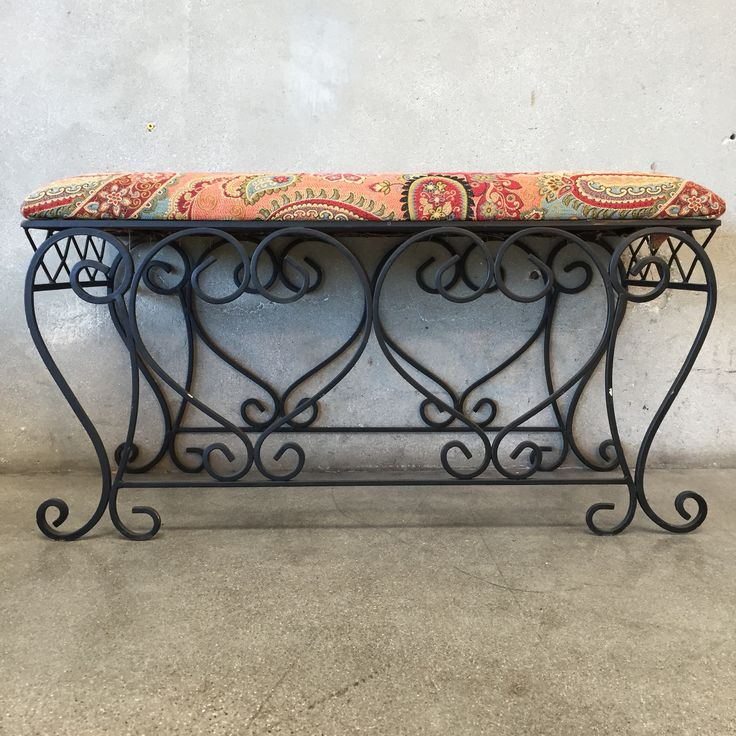 Best 25 Wrought Iron Bench Ideas On Pinterest Iron Bench Music Furniture And Wrought Iron
