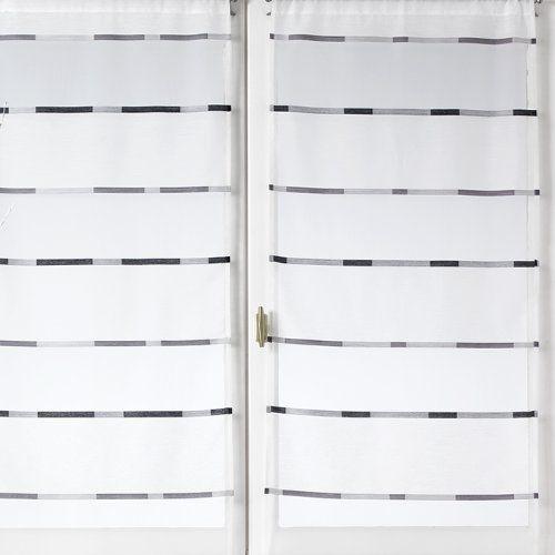 1000 id es sur le th me rideau vitrage sur pinterest. Black Bedroom Furniture Sets. Home Design Ideas