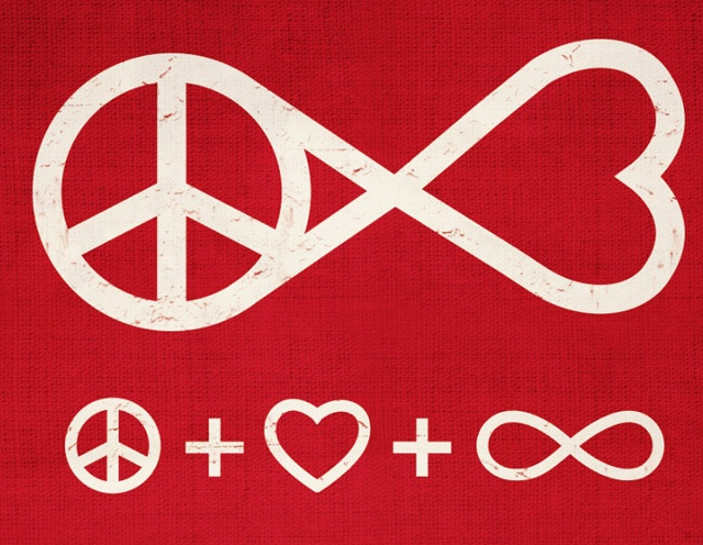 PEACE AND LOVE FOREVER by dandingeroz04, via Flickr