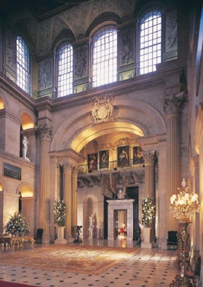 Blenheim Palace Great Hall