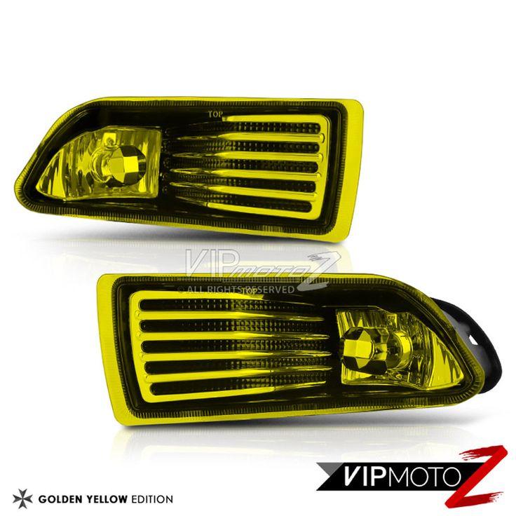 2005-10 Scion tC [COMPLETE KIT] Yellow Bumper Fog Light Lamp Bulb Switch Wiring #VIPMOTOZ