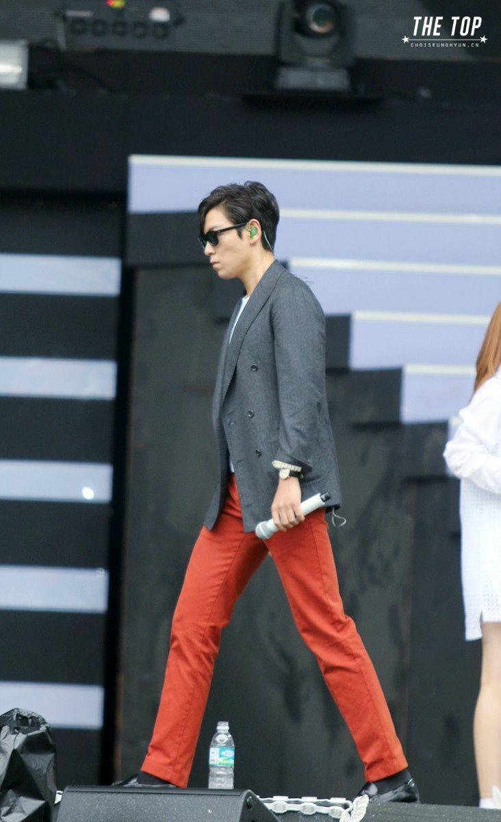 AIA Soundcheck Party 140814 ©THE TOP #YGFAMILY#BIGBANG #TOP #ChoiSeunghyun