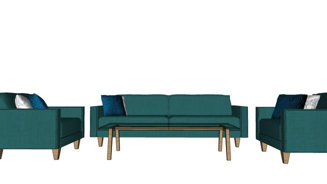 Sofa Minimalist (Set) - 3D Warehouse