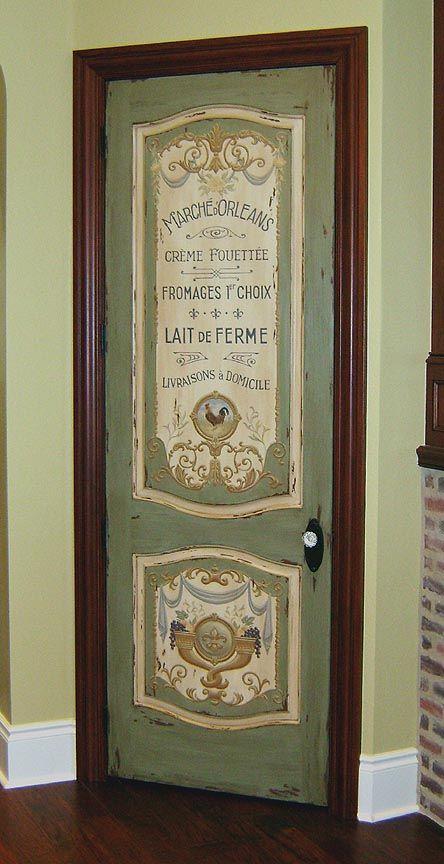 another great painted door