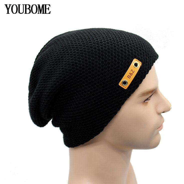 Arrival Brand Beanies Women's Men's Winter Hat Knit Skullies Winter Hats For Men Women Caps Skull Bonnet Knitted Beanie New 2017