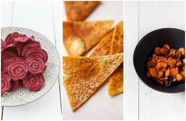 10 sunde alternativer til chips Mmn! Det glæder jeg mig til at prøve!