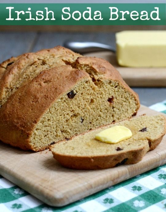 Whole Grain Irish Soda Bread | Real Food Real Deals #healthy #recipe # ...