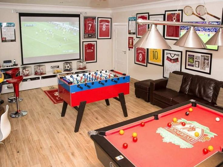 Room Makeover Game Part - 27: 10 Of The Most Fun Garage Game Room Ideas