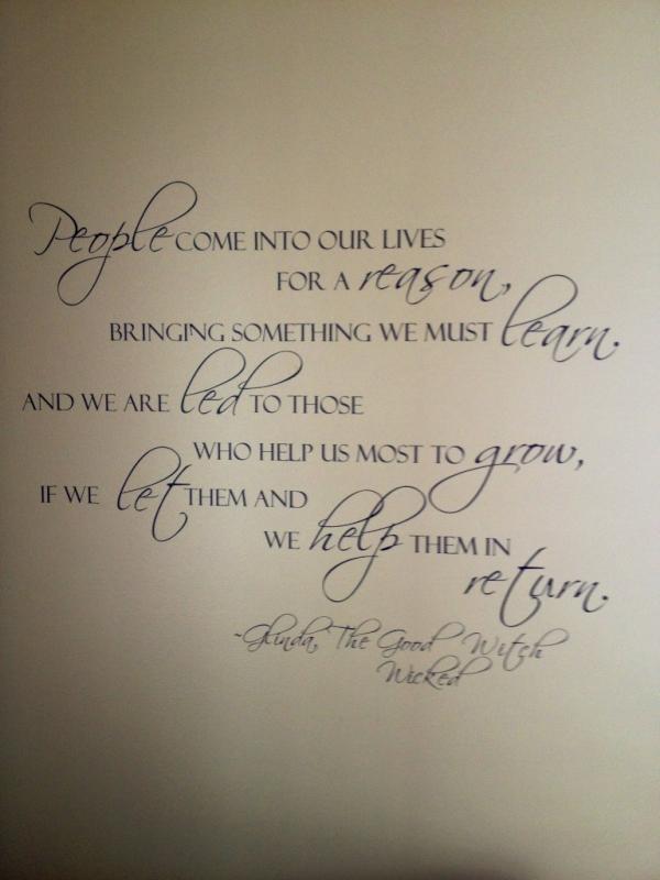 Glenda quote - so true