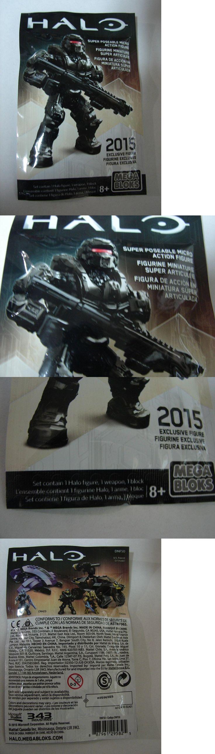 Mega Bloks 52338: Sdcc ? 2015 Mega Bloks Halo Exclusive Rare Figure Spartan Warrior Red Visor -> BUY IT NOW ONLY: $34.95 on eBay!