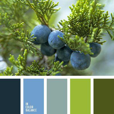 azul, azul oscuro, celeste, celeste suave, colores para decorar casa, negro, selección de colores, tonos azules, verde, verde hoja, verde lechuga, verde oliva.