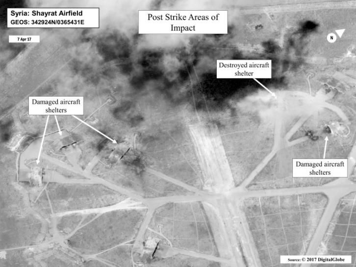 #world #news  Russia says U.S. missile strike on Syria was a threat to its forces