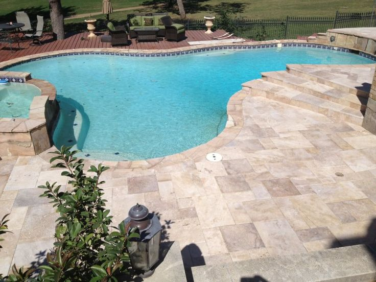173 best images about pools on pinterest swimming pool for Pool paving ideas