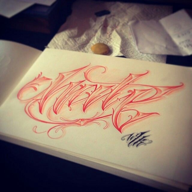 17 Best Images About Lettering Tattoo On Pinterest