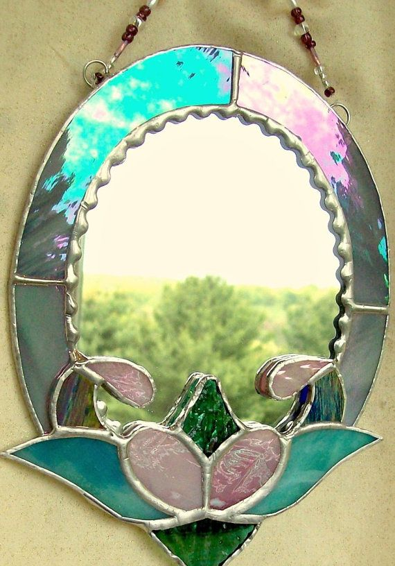 Beautiful 154 best stain glass mirror picture frames images on Pinterest  IT52