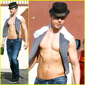 #Derek Hough's Shirtless Sexy Body is the Reason Why You Should Dance! --- More News at : http://RepinCeleb.com  #celebnews #repinceleb #DerekHough, #Music, #Shirtless