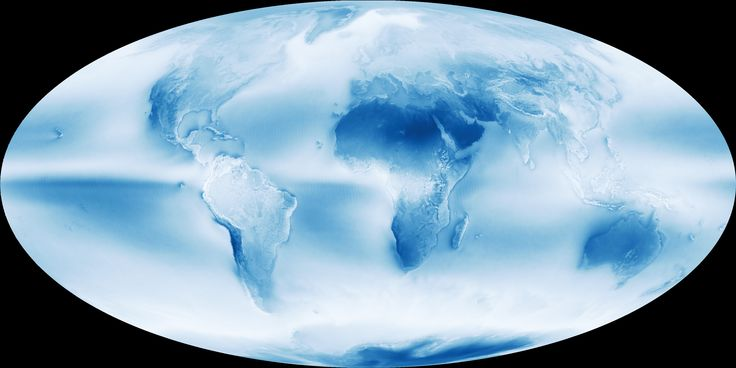 News - Thirteen years of cloud cover, in one beautiful map - The Weather Network