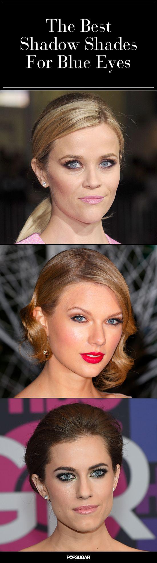Eyeshadow 101: How to Make Blue Eyes Pop