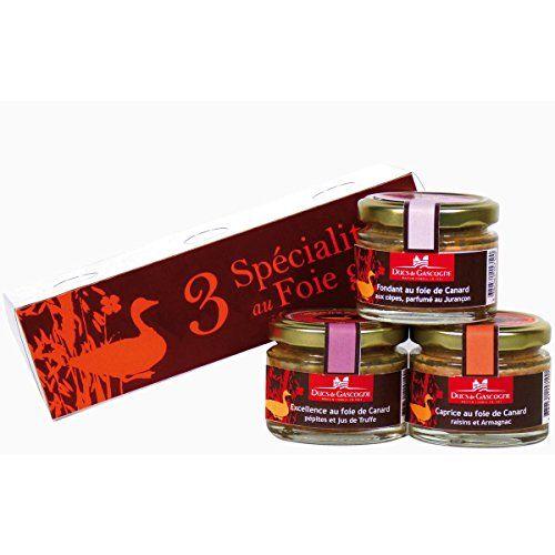 Ducs de Gascogne – Délicatesse: Un assortiment élégant composé de 3 produits de terroir Ducs de Gascogne: – Excellence au foie de canard,…