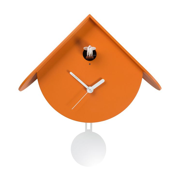 Add designer style to your home with this gorgeous titti cuc clock from diamantini u domeniconi for Pendule blanche design