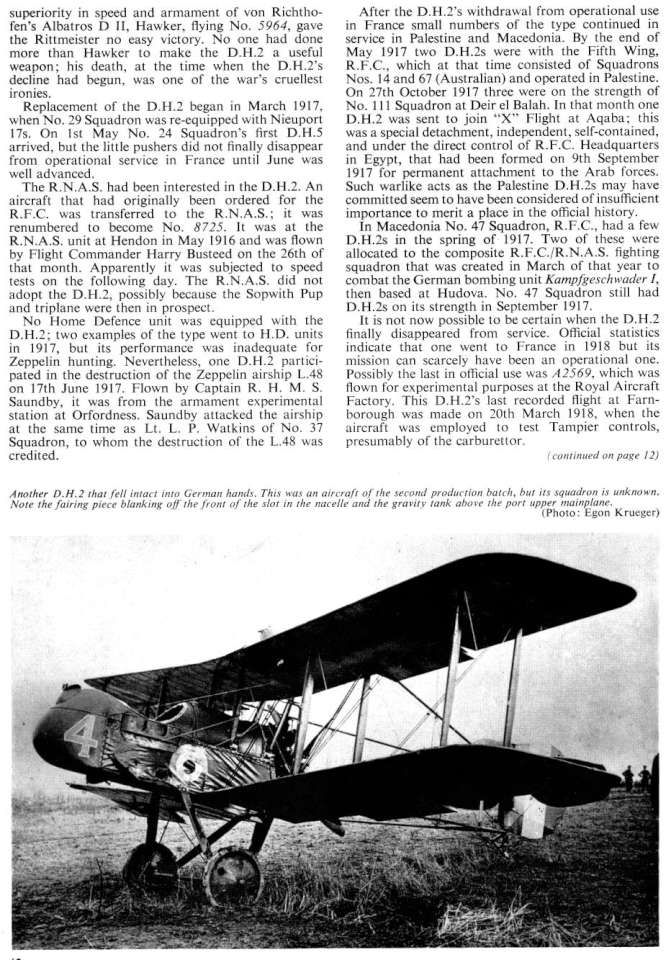 De Havilland DH2 (91) Page 10-960