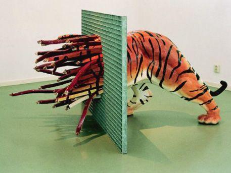 merijn bolink - installatie tijger