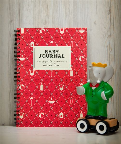 Baby Journal - write to me stationery