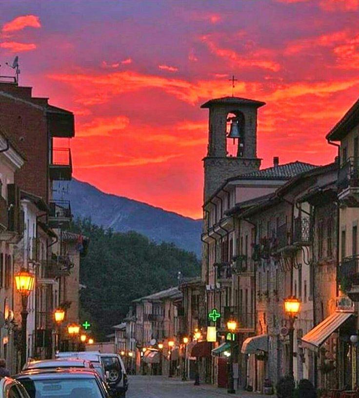 Amatrice Italia, sentimientos de pena