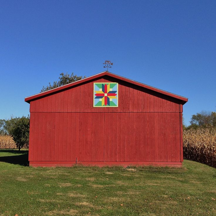 """""""GLORY"""" American Garden Barn Quilts Indiana 