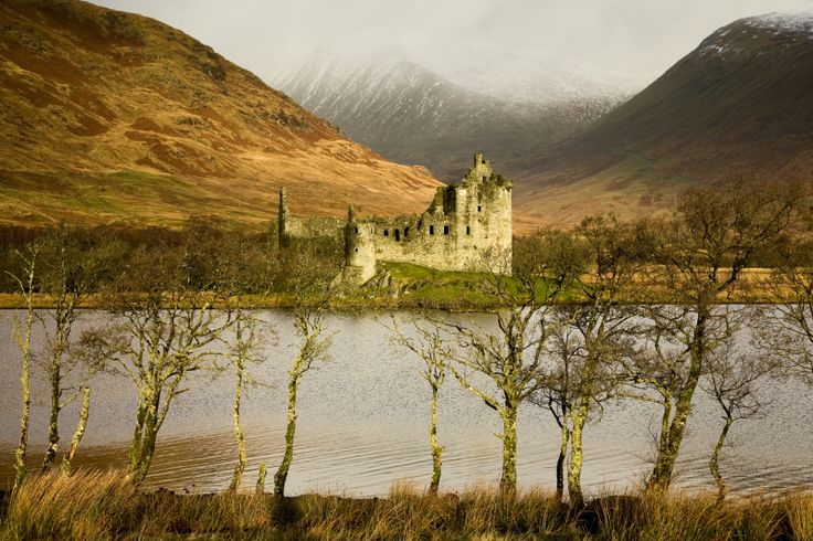 kilchurn castle argyll scotland