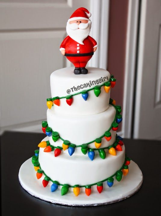 Sugar Cake Decorations For Christmas : Cake blog with edible artwork, cakes and cupcakes, and ...