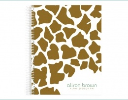 Check out the Designer Classic Notebooks, personalized to show off our Alpha Epsilon Phi letters!! Sooooooo cute!!