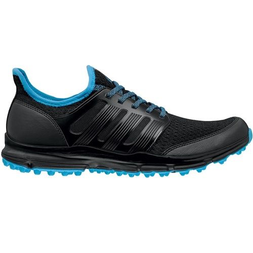 adidas Men's climacool Spikeless Golf Shoes - Black/Cyan